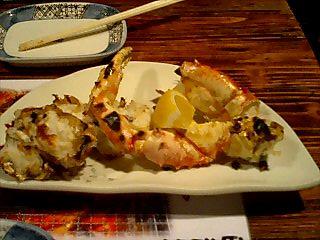 札幌すすきの海鮮道楽 焼きタラバ